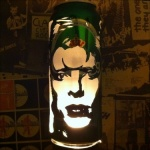 David Bowie Beer Can